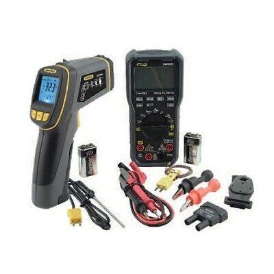 General Tools Khv57030 True-rms Hvac Meter Kit With Dmm570 Multimeter And Irt730