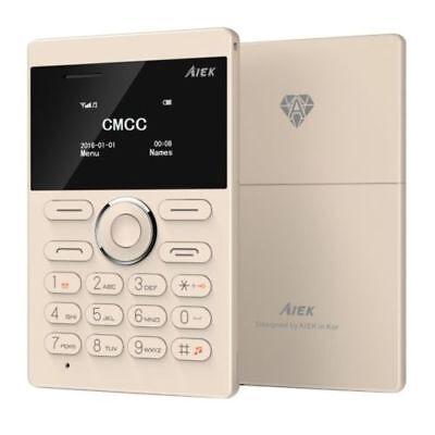 Ultra Flach Handy Simlockfrei Slim Jugend Senioren Handy Sicherheit Klein  A260 Ultra Slim Microsd