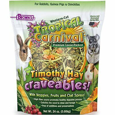 F.M. Brown's Tropical Carnival Natural Timothy Hay