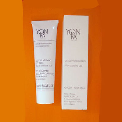 YONKA GOMMAGE 305 DRY or SENSITIVE SKIN 3.52 OZ / 100 ML SALON PROFESSIONAL SIZE ()