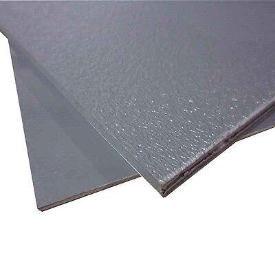 GRAY ABS PLASTIC SHEET 1/8