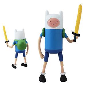 Adventure-Time-With-Finn-Jake-Stretchy-Finn-5-Action-PVC-Figure-NIB
