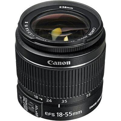 Canon EF-S 18-55mm f/3.5-5.6 IS II Lens For Canon DSLR Zoom Lens Bulk Package