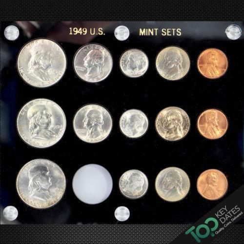 1949 Coin Set Ebay