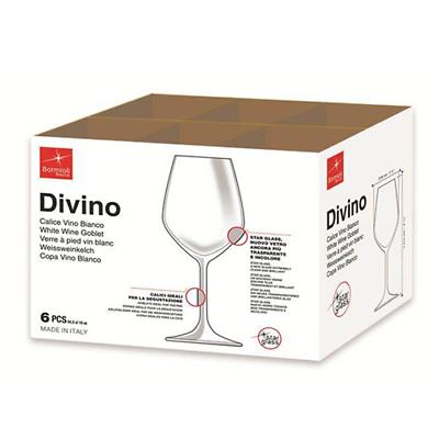 BORMIOLI ROCCO DIVINO SET 6 CALICI VINO BIANCO 44.5 CL