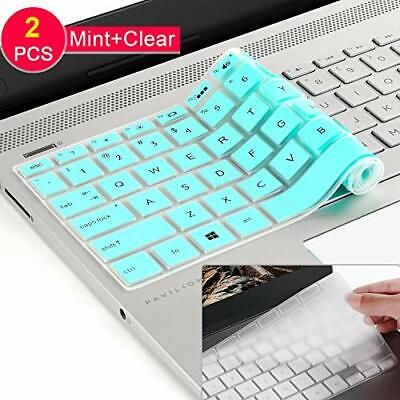 """Keyboard Cover Compatible HP Pavilion 14"""" HP Laptop Skin All Around Protection"""