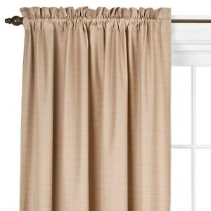 Eclipse™ Light Blocking Braxton Thermaback Curtain Panel