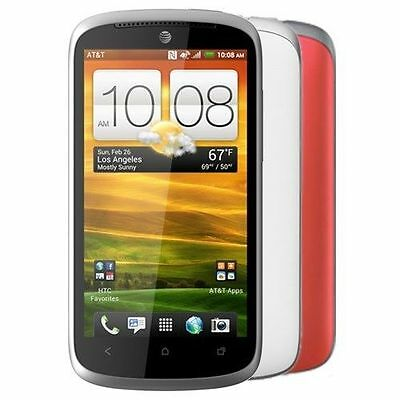 HTC One VX PM36100 8GB ROM 1GB RAM White Unlocked Android Smartphone 4G AT&T