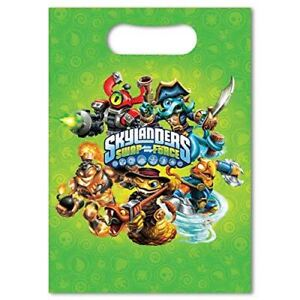 Skylanders Swap Force Party loot Bags Party Supplies Favours Goody Pack of 8