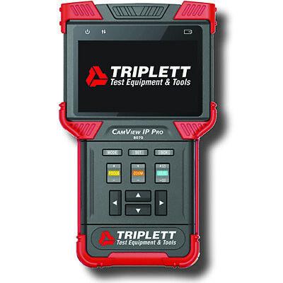 Triplett 8070 Camview Ip Pro Ip Ntscpal Camera Tester Wdhcp Server