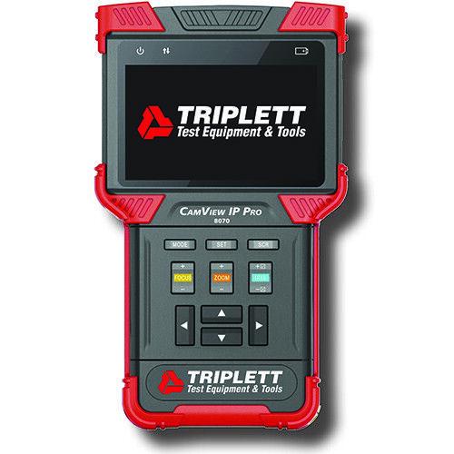 Triplett 8070 CamView IP Pro IP & NTSC/PAL Camera Tester w/DHCP Server