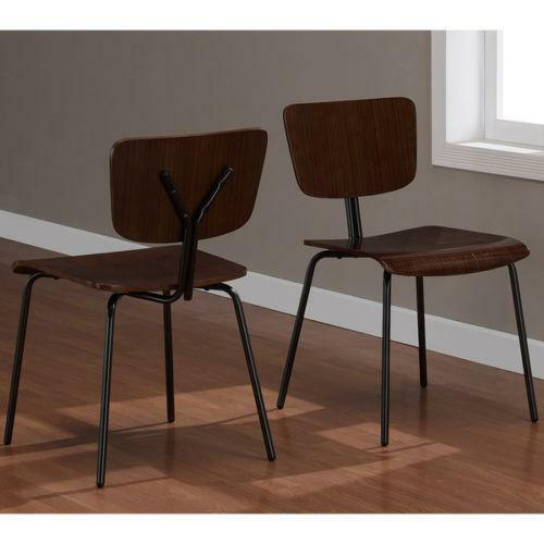 Metal dining room chairs ebay for Ebay dining room furniture