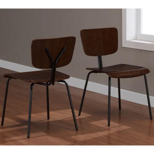 metal dining room chairs ebay. Black Bedroom Furniture Sets. Home Design Ideas