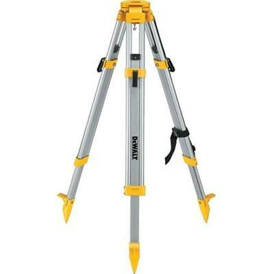 Dewalt Dw0737 60 Construction Laser Grade Level Tripod - 58 X 11 Threads