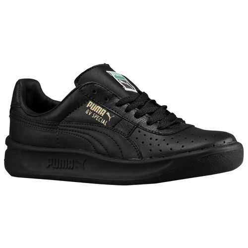 New BABY Puma GV Special Black Metallic Gold Sneakers Infant Toddler Boys Girls