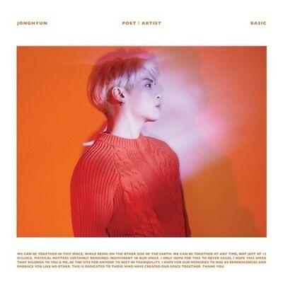 Shinee Jonghyun-[Poet l Artist] 2nd Album CD+86p Booklet+Gift K-POP Sealed SM