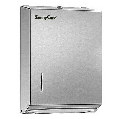 Sunnycare Stainless Steel Multi-fold Paper Towel Dispenser