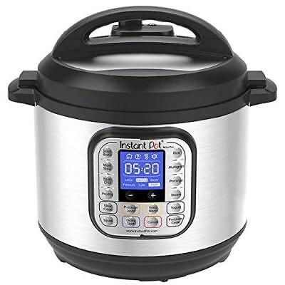 Instant Pot Nova Advantage 6 Qt 9-In-1 Multi-Use Pressure Cooker Smart Programmable