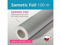 Sametic foil for nappy disposal systems as Sangenic, Angelcare, Playtex...