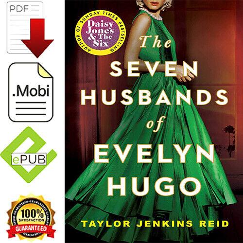 The Seven Husbands Of Evelyn Hugo A Novel By Taylor Jenkins Reid🔴Quick Delivery
