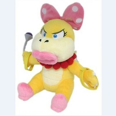 "New Super Mario Wendy Koopa Bowser Koopaling 7"" Plush Toy Doll Stuffed Animal"