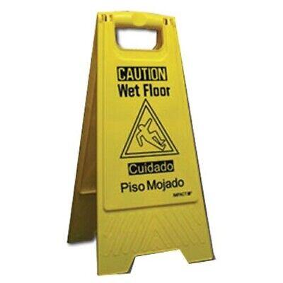 Impact Caution Wet Floor Sign