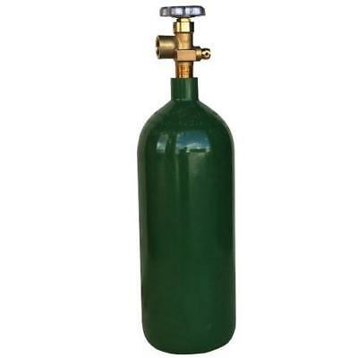 20 Cf Welding Cylinder Tank For Argon Nitrogen Argonco2 Helium W Free Shipping