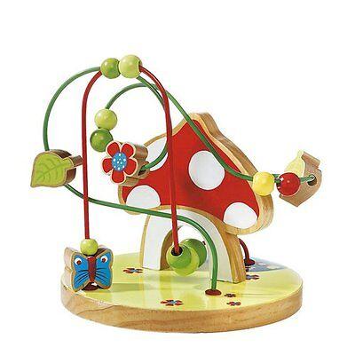 SOLINI Motorikschleife Fliegenpilz Motorik-Spielzeug Baby NEU mehrfarbig