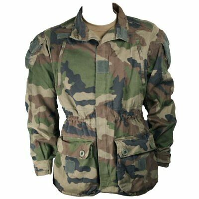 7f8e0dd760288 French Army CCE Woodland Camo Combat Tactical Military Jacket Winter FELIN  96cm