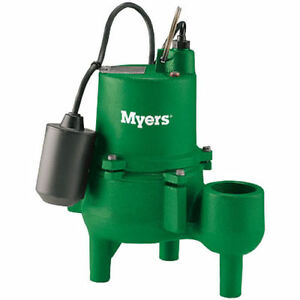 Myers sewage pump brand new in box