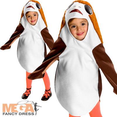 Porg Toddler Fancy Dress Star Wars The Last Jedi Scifi Bird Baby Childs Costume](Infant Jedi Costume)