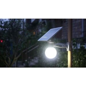 New Solar Panel Power LED Light Outdoor Garage Driveway House