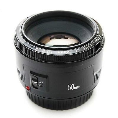 Canon EF 50 mm f/1.8 II Autofocus Lens Standard