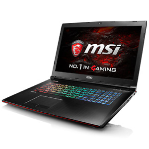 MSI Apache Pro GE72VR High End Gaming Laptop