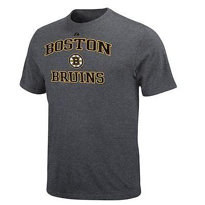 Boston Bruins Mens Majestic Short Sleeve T-Shirt - Medium & Small - -