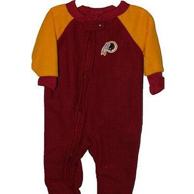 Washington Redskins NFL NEW Baby Blanket Sleeper ONESIES 24m FREE Ship NEW