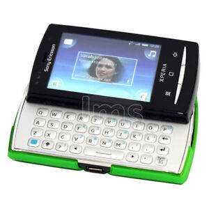 GREEN HYBRID CASE COVER FOR SONY ERICSSON X10 MINI PRO