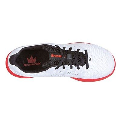 Купить Brunswick Fuze White Red Mens Bowling Shoes на eBay.com из ... e0965d91714
