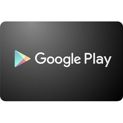 Google Play $50 Gift Card Only $48.5! Free Shipping, Pre-Owned Paper Card