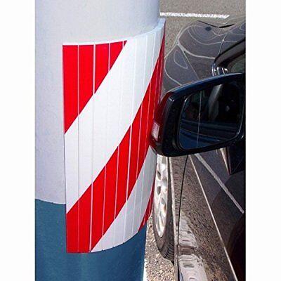 Pannello adesivo curvo Parabordi Protezione auto garage parcheggio 38 x 18 x 1.5