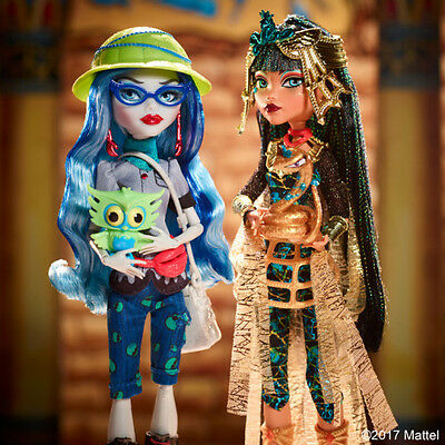 Monster High Cleo De Nile and Ghoulia Yelps Origins Mattel Exclusive *In Hand*