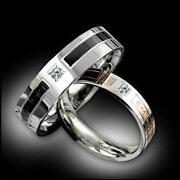 Titanium Couple Ring