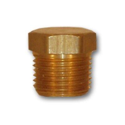 "Brass 1//8/"" 1//4/"" 3//8/"" 1//2/"" NPT Brass Internal Hex Thread Socket Pipe Plug RKCA"