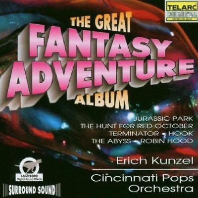 Great Fantasy Adventure Album - Cincinnati Pops Orchkunzel (New Cd)