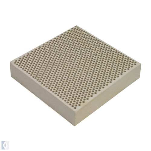 Ceramic Honeycomb Block-Soldering-Plate-with-Holes Pad Board - 54-214