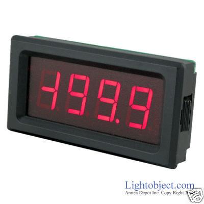 Up8135 Red Led Ac 200v Digital Volt Meter Power 6-15v