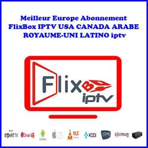 Best Europe FlixBox IPTV subscription USA CANADA ARABIC UNITED