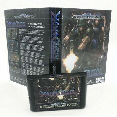 Xeno Crisis Sega Mega Drive Game with Box