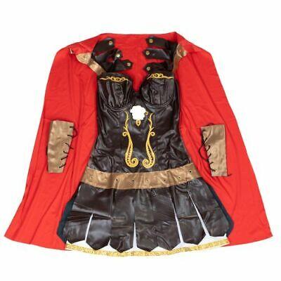 Bodysocks® Women's Spartacus Gladiator Costume Roman Ancient History - Spartacus Gladiator Costume