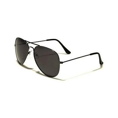 Gunmetal Polarized Sunglasses Driving Aviator